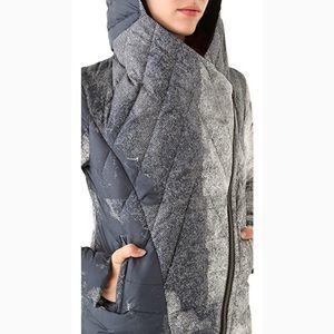 Helmut Lang Crush Printed Puffer Jacket